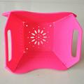 modern plástico dobrado cesta de frutas de decoração para as vendas
