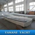Barato de fibra de vidrio barco de pesca SG700 con pequeño motor