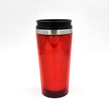 16OZ double wall stainless steel tumbler,double insulated tumblers with handle