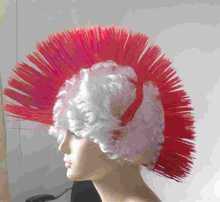 Wholesale 2015 Hot Sale Fashion Cheap Football Fan Wigs hair tassel