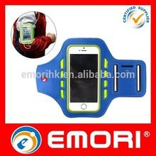 2015 Best selling fashion adjustable reflective sport armband jogging case
