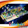 Indoor plastic playhouse, cheap playground equipment indoor