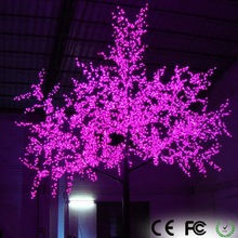 CE ROHS dmx control LED pink red cherry blossom cherry fruit tree