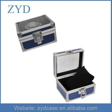 Aluminum construction Material Jewelry Display Case Jewelry Box, ZYD-MK042