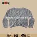 2015 nuevo estilo personalizado suéter de punto para las niñas jóvenes