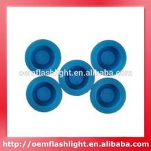 Dark Blue Silicone Boot 5PCS (13.6MM x 6.3MM)