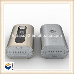 2015 original mobile power pack e cigarette iCoopa S1 e cigarette with 4400mAh battery