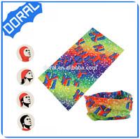 Hair accessories top cap tube seamless bandana waterproof headscarf
