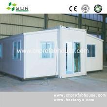 luxury expanding container house/construction modular australian standards