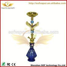 smoking e cigsinging hookah glass 2012 wholesale electronic hookah shisha e hookah wholesale china