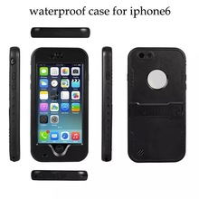 For Apple iPhone 6 Waterproof Plastic Mobile Phone Case
