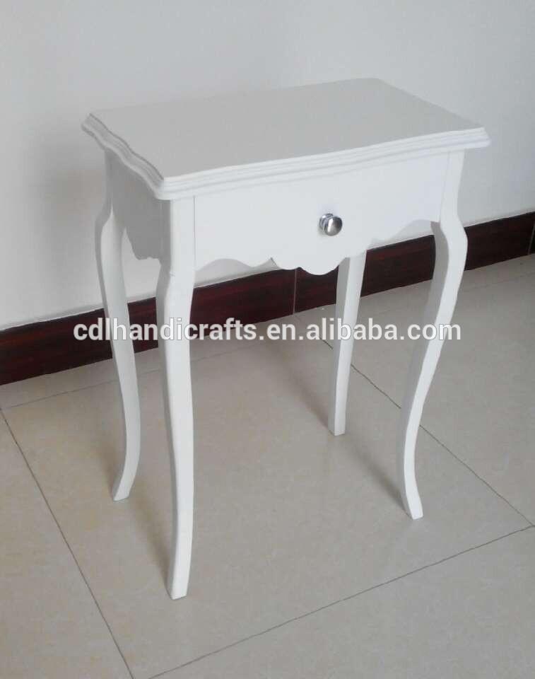 현대적인 흰색 미러 사이드 테이블 장식-콘솔 테이블 -상품 ID ...