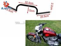 ZJMOTO Motorcycle Handlebar Cafe Racer Billet Handlebars Bobber Softail Dyna Hand Bar Cruiser Chopper Handle Bar IRON 883