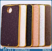 Sport Theme Chrome Football Skin Back Cover Case for Motorola Nexus 6