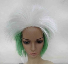 Hot-selling Soccer fans wig hair,Football fans wig,Party wigs hair loss solution oil