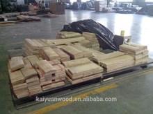 Wear Resistant Hickory Veneer for Engineered Flooring Top Ply