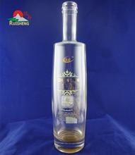 750ml Super flint alcohol wine glass bottle