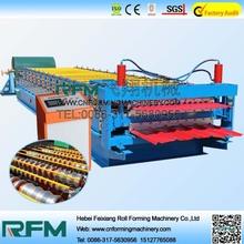 FX aluminium colored steel profile metal roofing sheet making machine
