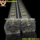High lumen epistar 12v 5050 SMD Rgb led rigid strip for cabinet light with 2 years warranty