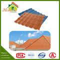 Estilo chinês de resina sintética 100% impermeável china telha telhados