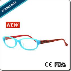 2015 new kids glasses plastic frames