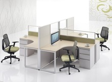 High quality office cubicle with high divider S306