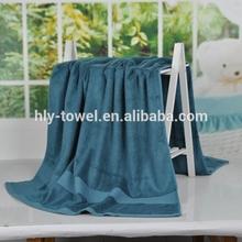 100% cotton comforter solid color with satin border bath towel
