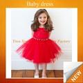 Nuevo 2015 precioso vestido debebé para las niñas de siete años de edad sfubd- 041