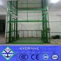 Almacén hidráulico de elevación del elevador/bienes ascensor/de elevación de carga de la plataforma