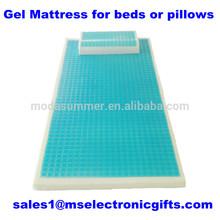 Manufacturer Hot cool Gel bed Mattress pad memory foam pillow cover gel Mat bed topper