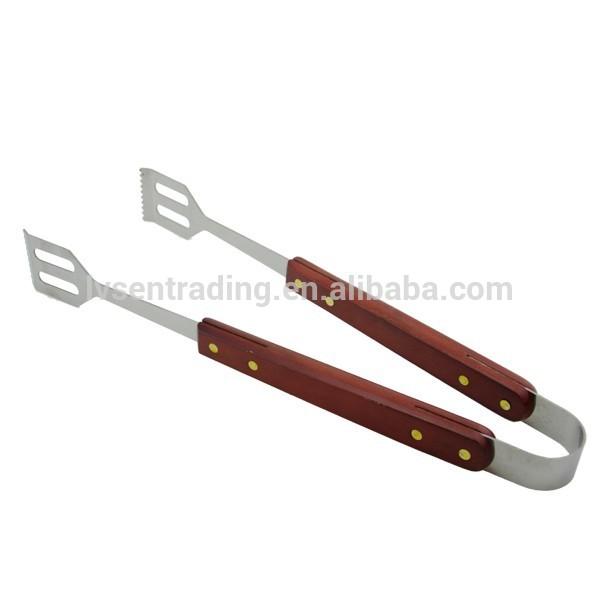 Metal Handle Spatula Metal Long Wood Handle Bbq