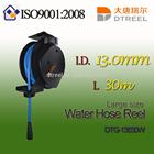 I.D. 6.5mm L 10m DTS-6810W small size water hose reel TPU plastic tube
