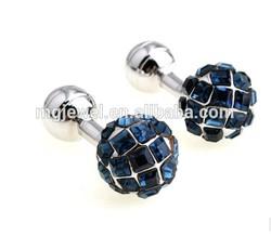 blue Ball Cufflinks very low Cost