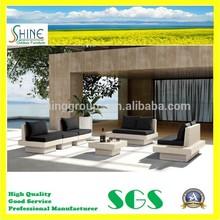 Luxury Outdoor Furniture All Weather Rattan Patio Sofa Set CT2014427