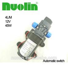 electric high pressure mini water pump 12 volt 24v in pumps for water dispenser , irrigation , garden , car , washing