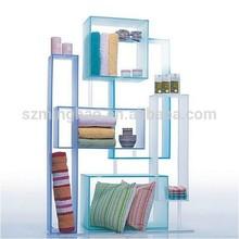 home decoration acrylic showcase, custom acrylic display case