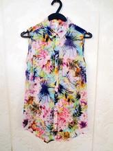 HIJ-14-LB-13-011 Printed lady blouse