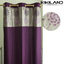 2015 Kikiland latest design factory wholesale decorative window curtain