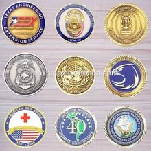 customize metal challenge coin,commemorative collector souvenir coins