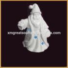 white porcelain santa claus figurine for sale