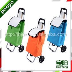 two wheel bag shopping cart