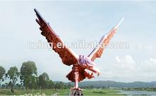 """Outdoor Bronze Sculpture Modern Art Sculpture - """"Eagle"""""""