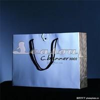 Luxury Cheap die cut paper bag with handle
