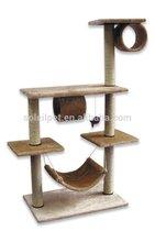 New Design Luxury Cat Tree Indoor Wooden Cat House