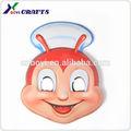 2015 cabeza de dibujos animados máscara/por encargo de plástico máscaras/masquerade máscaras a granel