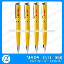 LT-B764 Customized pen hot selling metal ball pen with laser logo
