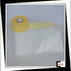 Widely used in daily life and auto repair functional plastic masking film