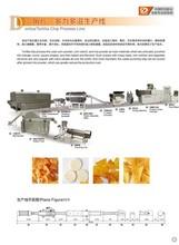 Dayi corn flour Doritos Tortilla chip extruder machine