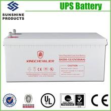 Lead Acid Storage Backpack 200Ah Solar Battery 12V