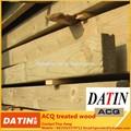 Acq patio con tratamiento térmico y madera carbonizada diseño pilar